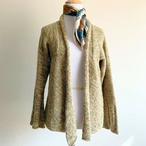 Urban Outfitters XS Knit Cardigan Green Gray